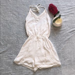 Hollister Other - White Hollister Romper